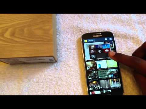 Samsung Galaxy S4 Tmobile (hands on)