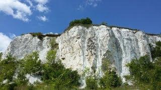 В поисках каньона у меловой скалы (г. Балаклея, с. Чепель)