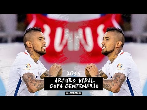 Arturo Vidal - Review Copa América Centenario 2016