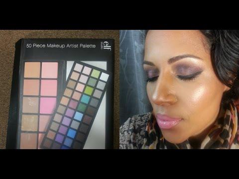 Purple Smokey Eye w/ ELF 50 PIECE Makeup Artist Palette