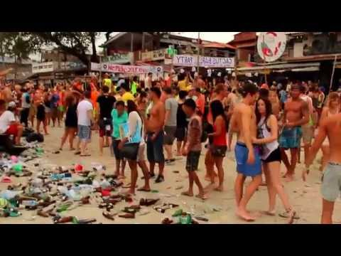 Crazy Full Moon Party Koh Phangan 2011-2012 - Thailand
