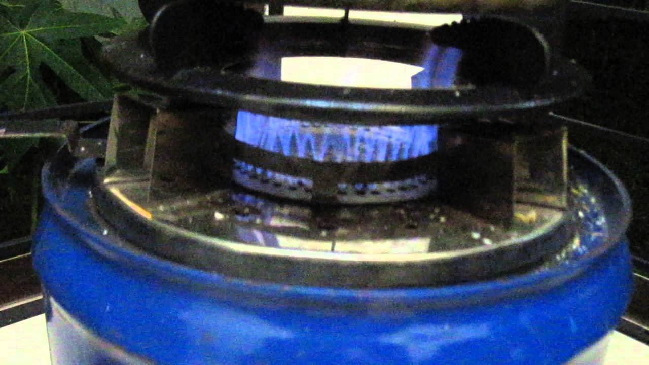 Super Blue Flame Rice Husk Gasifier Stove Youtube