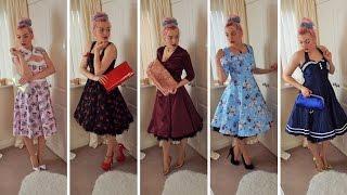 50's Swing Dress Lookbook