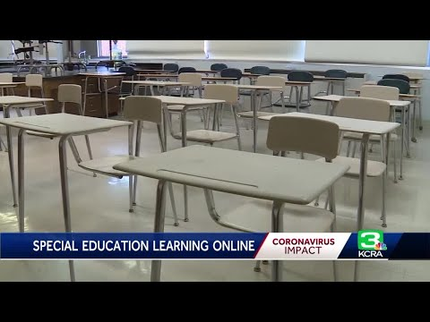 Special education students struggle with distance learning