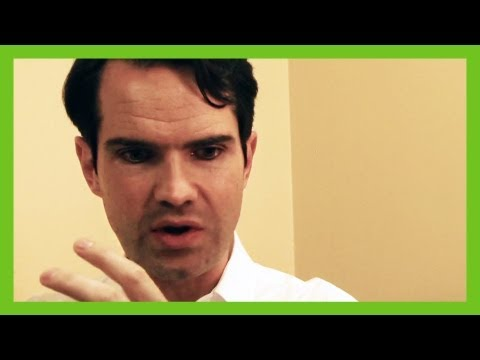 Jimmy Carr - funny exclusive backstage interview at the EICC | ComComedy