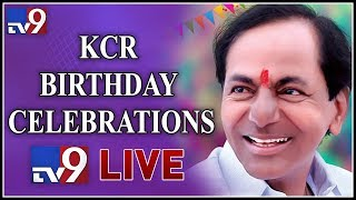CM KCR Birthday Celebrations LIVE || Necklace Road