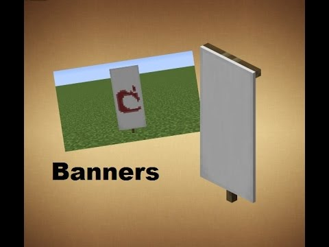 Minecraft - Crafting Recipes - Banners