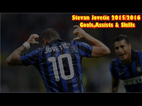 Stevan Jovetic-Goals,Assists & Skills 2015/2016