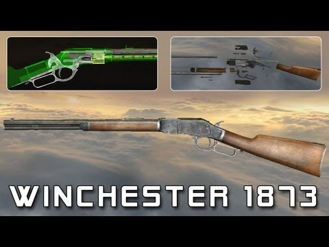 Winchester 1873 (full disassembly and operation)
