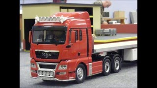RC Trucks & Construction site @ Leyland (RVTC) April 2014. Scania V8,