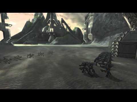 Halo 2 - AI Battle - Tartarus vs Hunters