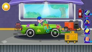 Kids Car Wash Garage Auto Service Station