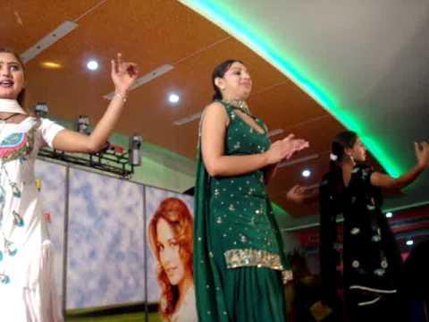 Dancing Girls At Punjabi Wedding, January 2009