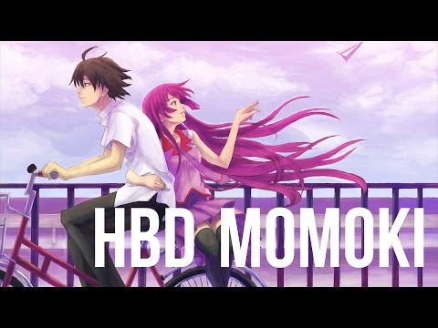 "[HBD MOM0KI] ENGLISH ""Staple Stable"" Bakemonogatari (Akane Sasu Sora)"