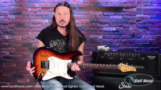 Reb Beach - Personal Signed Guitar and Amp | N Stuff Music