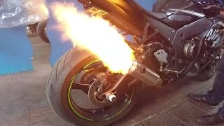 Kawasaki ZX-10R Ninja Winter Edition - Ferik Exhaust !