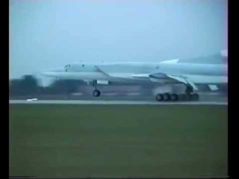 Tu-22 Tupolev Backfire long range strategic bomber aicraft Russia Russian air force aviation