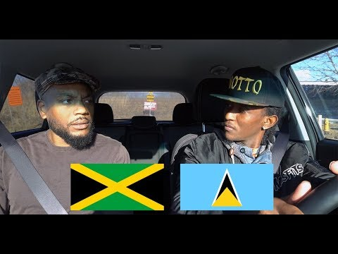 Jamaican gives a famous St Lucian man a driving exam thumbnail