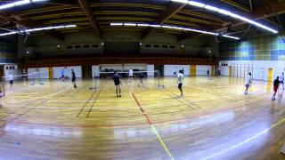 Best of 3 badminton CEBN  Nogent sur Seine