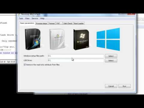 [HD] How to create a bootable USB flash drive for Windows XP/7/8 using WinToFlash