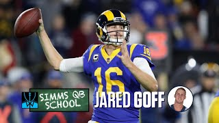 Simms QB School: Los Angeles Rams' Jared Goff | Chris Simms Unbuttoned | NBC Sports