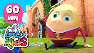 Humpty Dumpty - Educational Songs for Children | LooLoo Kids