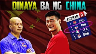 DINAYA kaya ng CHINA ang FIBA World Cup DRAW?
