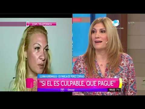 Habló la exesposa de Pérez Corradi: Traten de mantenerlo vivo