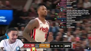 Lillard GOT ROBBED! FlightReacts Trail Blazers vs Utah Jazz - Full Game Highlights February 7, 2020