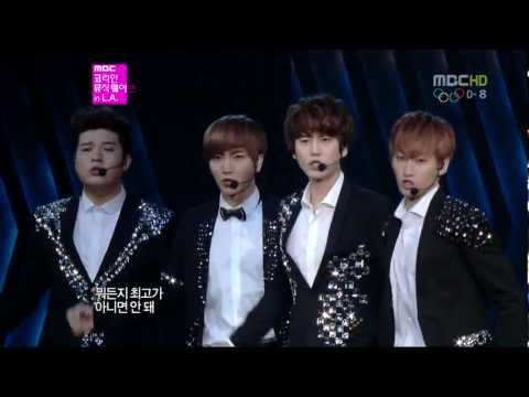 [full Hd] 120719 Super Junior - Superman + 미인아  La Sm Town video