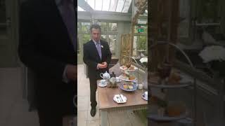 Hendrick's Ginpot Afternoon Tea