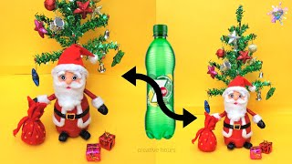 DIY Christmas Room Decor ideas/ How to make Santa Claus at home/ Easy Newspaper Craft