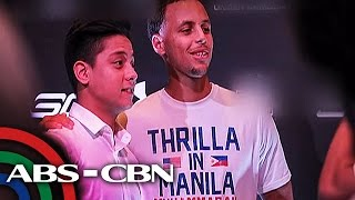 Stephen Curry, may sorpresang regalo kay Daniel Padilla