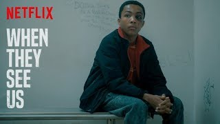 When They See Us 'Holding Cell Scene' | Netflix