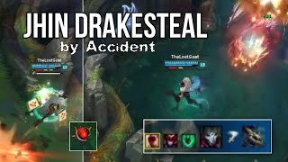 Jhin Drakesteal by Accident - Blast Cone