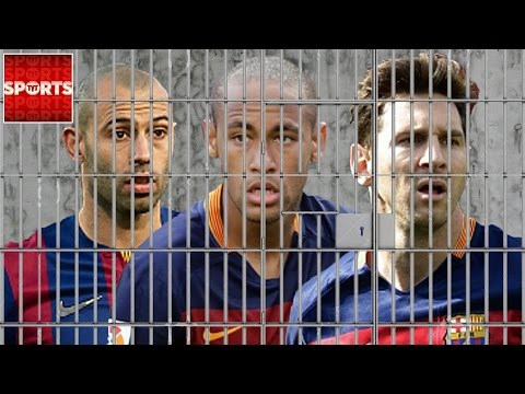 NEYMAR And MASCHERANO Facing Jail Time With MESSI? [More FC Barcelona TAX Evasion]