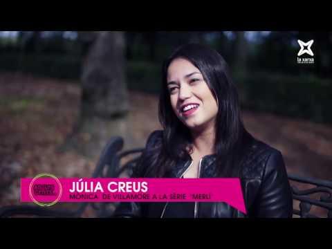 """Entrevista a Júlia Creus. La Mònica a la sèrie """"Merlí"""""""