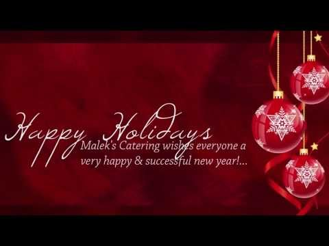 Malek's Catering wishes everyone a very happy & successful new year!