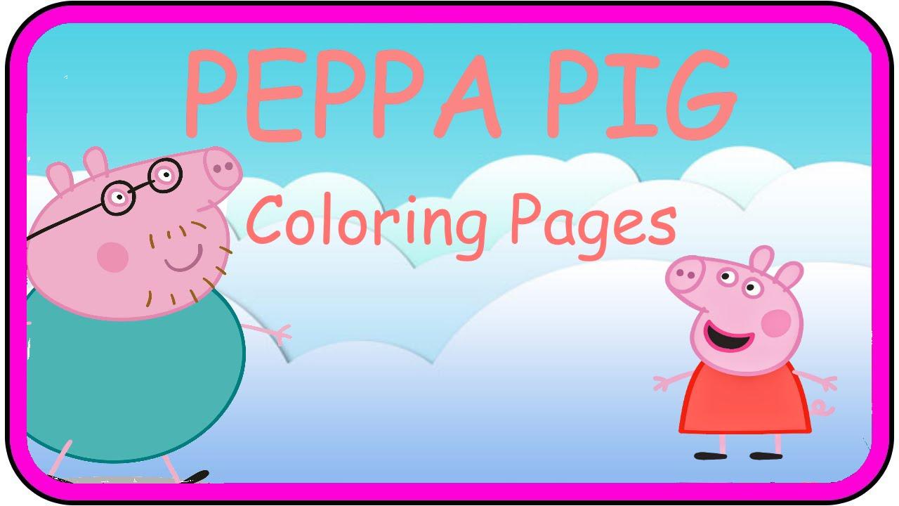 Richard Ridings Peppa Pig Peppa Pig Coloring Pages