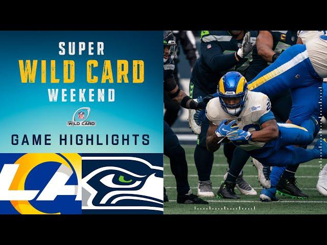 Rams vs. Seahawks Super Wild Card Weekend Highlights  NFL 2020 Playoffs