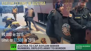 Border Checks: Vienna deploys army, limits asylum program