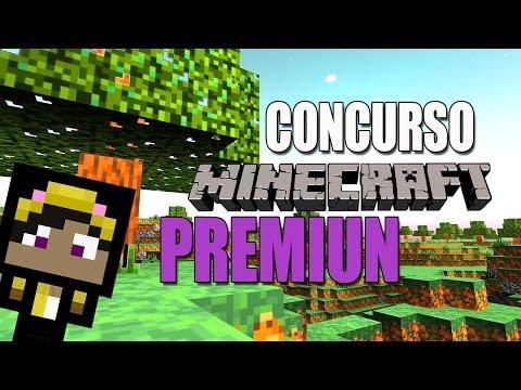 CONCURSO Minecraft Premiun