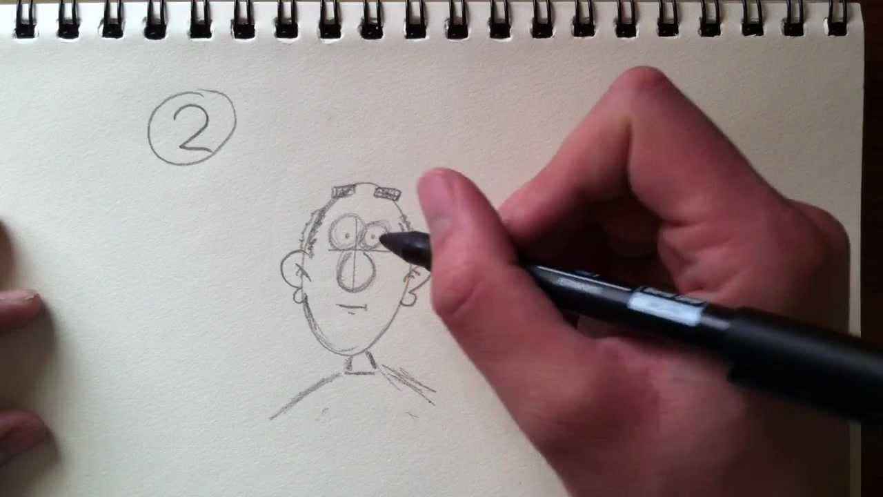Cartoons Tekenen Voor Beginners Deel 2 Youtube