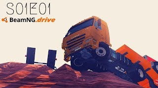 Beamng Drive: Seconds From Disaster (+Sound Effects) |Part 1| - S01E01