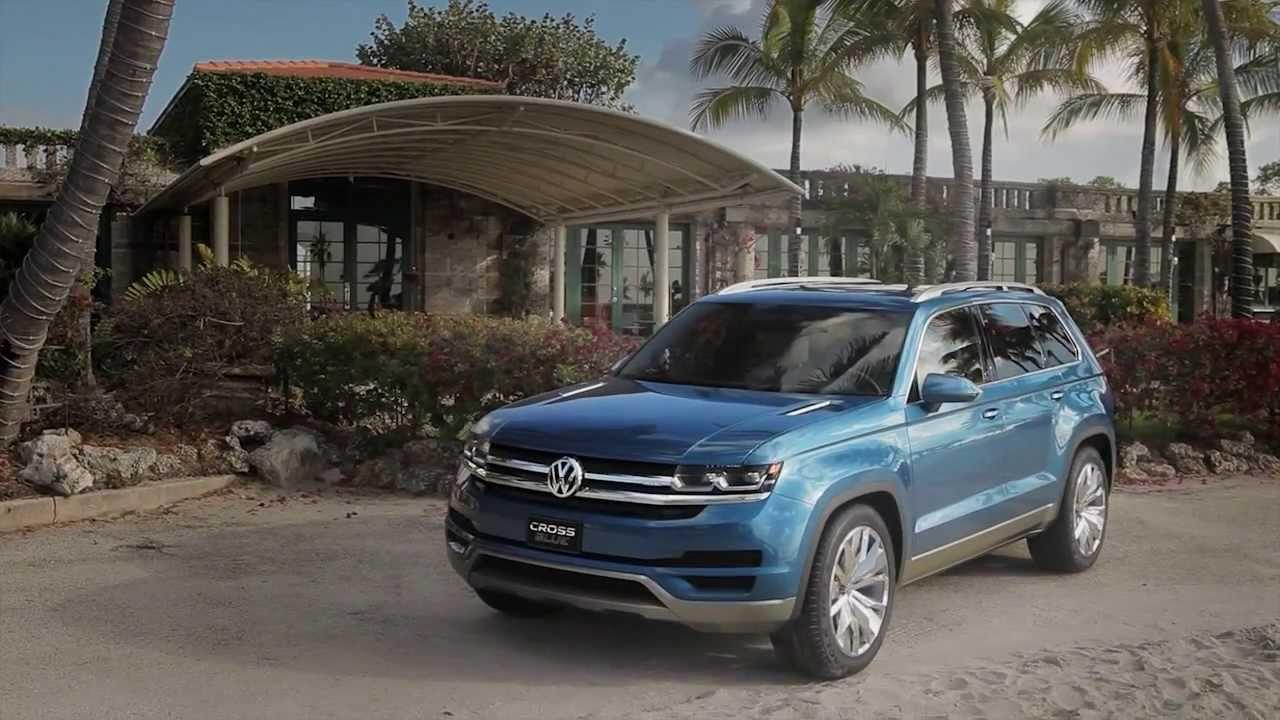 Volkswagen CrossBlue Traler | AutoMotoTV - YouTube