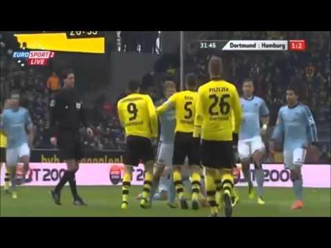 Dortmund vs Rafael van der Vaart ! xD