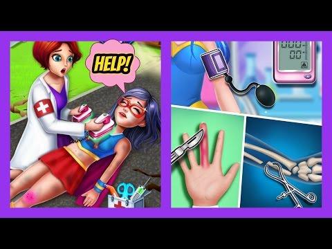 Superhero doctor 2 ER Surgery Simulator - Android FULL Gameplay - Best games for Girls