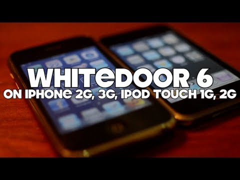Install iOS 6 On iPhone 3G, 2G, iPod Touch 1G And 2G - WHITED00R