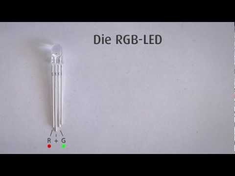 Arduino Tutorial - 7. Die RGB LED - Teil I  (#7)