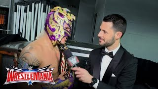 Kalisto comments on retaining the United States Championship: WrestleMania 32 Exclusive, Apr 3, 2016